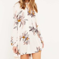 Free People Pearl Tree Swing Tunic Dress - Urban Outfitters