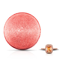Pink Champagne - Bath Bomb With a Ring and a Chance to Win a $10k Ring
