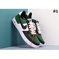 NIKE AIR FORCE 1 Tide brand hit color couple models low to help retro wild sports shoes #6
