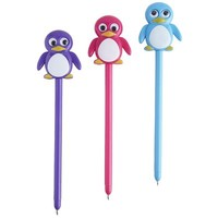 Penguin Pen with Moving Wings