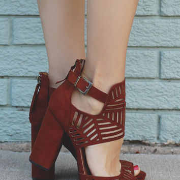 Fifth Avenue Heels - Whiskey