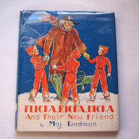 Flicka, Ricka, Dicka and Their New Friend Vintage Children's Book