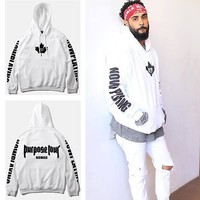 Purpose Tour Pullover Men&Women Hoodies [9506642887]