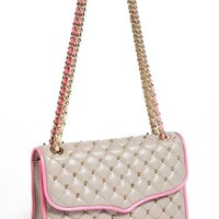 Rebecca Minkoff 'Quilted Affair with Studs' Convertible Crossbody Bag
