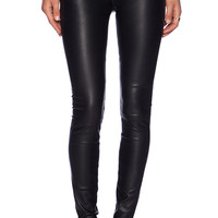 Black Orchid Leather Skinny in Black