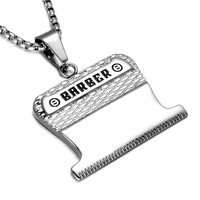 Stainless Steel Barber Necklace