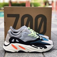 ADIDAS YEEZY 700 Tide brand breathable men and women retro wild sports running shoes 1#