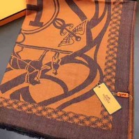 Day-First™ Hermes Woman Cashmere Scarf Shawl Silk Scarf