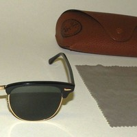 RayBan RB 3016 Clubmaster W0365 49=21 3N Sunglasses
