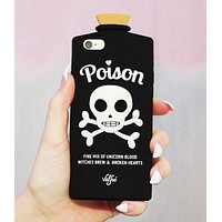 LAST CALL - Poison 3D Phone Case in Black for iPhone 7 or 8
