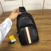 BALLY NEW STYLE MEN Leather BACKPACK BAG