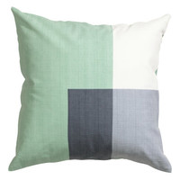 H&M Block-patterned Cushion Cover $12.99