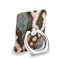 Blue Snakeskin Phone Ring