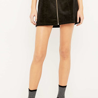 Urban Outfitters A-Line Zip Corduroy Skirt - Urban Outfitters