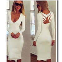 New Fashion Summer Sexy Women Dress Casual Dress for Party and Date = 4458191812