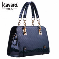Fashion Women Plaid Bags Designer High Quality Leather Shoulder Bag Ladies Bling Chain Handbags Herald Sac a Main Casual Totes