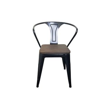 Tolix Dining Chair, Bronze Aron Living