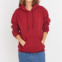 BDG Plain Pullover Hoodie - Urban Outfitters