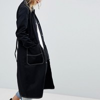 Cheap Monday Summer Mac with Contrast Stitching at asos.com