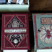 SCARY BOOK BOXES (SET OF 4)