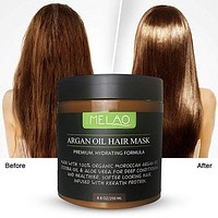 Hair Treatment Mask, with Argan Oil Dry Damaged Hair Repairing and Conditioning