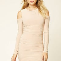 Contemporary Ruched Dress