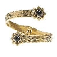 Lucky Brand Cleobella Floral Cuff Womens - Gold (One Size)