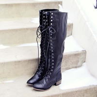 Langley Lace-Up Boots