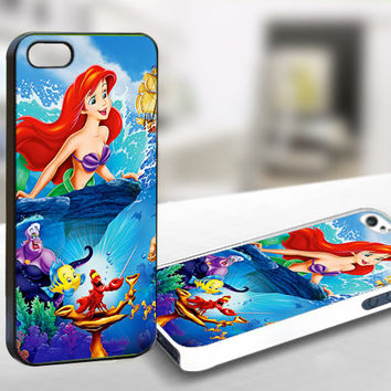 Beautiful Ariel The Little Mermaid Disney Princess - WDC0041 - Print On Hard Cover For iPhone 44/4s