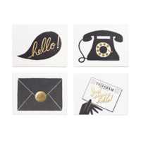 'Hello' Boxed Note Cards by Rifle Paper Co.