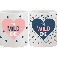 Polka Dot and Leopard Print Coffee Mugs - 365 Printing Inc