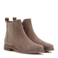 Montrond suede Chelsea boots