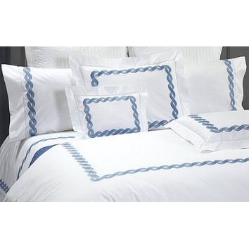 Monica Embroidery Bedding by Dea Linens