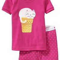 Old Navy Cat Graphic PJ Sets For Baby