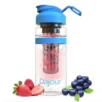 Dajour Water Bottle with Fruit Infuser and Carrying Handle 4