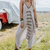 Sweetest Thing Embroidered Harem Jumpsuit