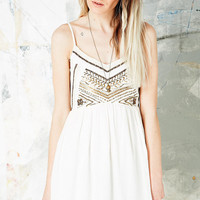 Ecote Rowan Cami Dress in Ivory - Urban Outfitters