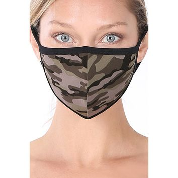 Adult Washable Mask / Camouflage