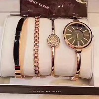 Calvin Klein Women Fashion Trend Quartz Movement Simple Wristwatch Watch Four Piece Suit