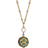 Max & Chloe - Athena Designs Turquoise Pendant Necklace - Max and Chloe