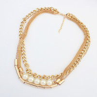 Jewelry New Arrival Stylish Shiny Gift Pearls Necklace [4918866372]