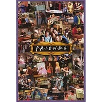 Friends TV Show Cast Collage Poster 24x36