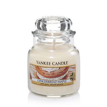 Gingerbread Maple : Small Jar Candles : Yankee Candle