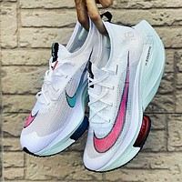 Bunchsun Nike ZoomX Vaporfly Next% Trending Women Casual Air Cushion Running Sports Shoes Sneakers