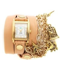 La Mer Collections Birdcage Charm Wrap Watch | SHOPBOP