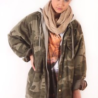Camo Coat from Vintage Love