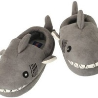 Stride Rite Boys 2-7 Lighted Shark Slipper, Grey, 7/8