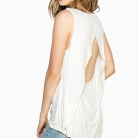ShopSosie Style : Ready Now Tank Top in Oatmeal