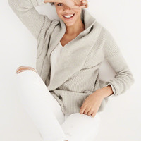 Womens Rib Mix Cardigan | Womens Clearance | Abercrombie.com