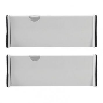 OXO Good Grips Expandable Dresser Drawer Dividers, 2-Count